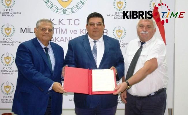 Milli Eğitim ve Kültür Bakanlığı ile DAÜ arasında protokol