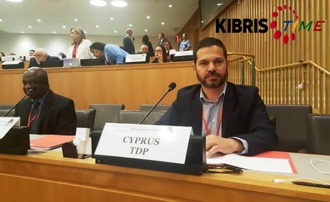 TDP Sosyalist Enternasyonal toplantısında temsil edildi.