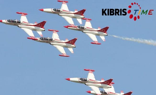 Türk Yıldızları Girne'de gösteri yapacak