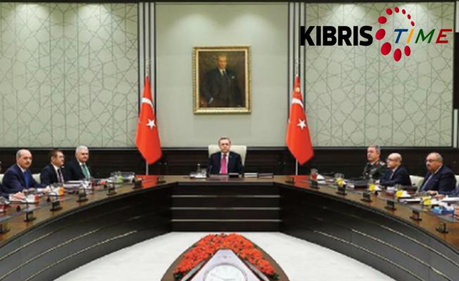 Türkiye MGK'ndan Kıbrıs kararı...