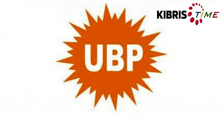 UBP'nin 1 Ağustos mesajı…