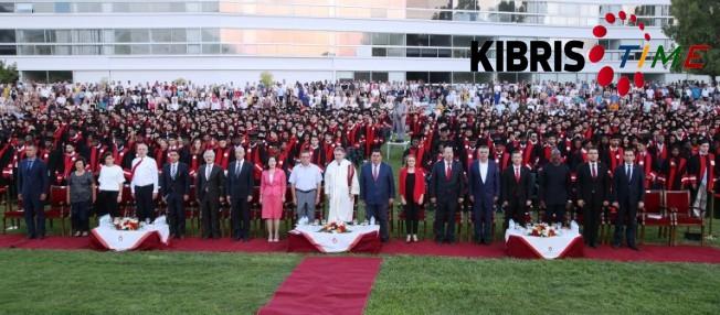 UKÜ'de 1350 öğrenci diplomasını aldı