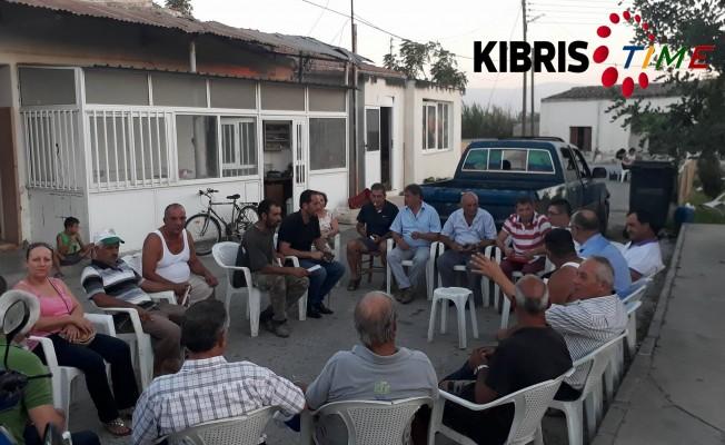 CTP Güzelyurt'ta sorun dinledi...