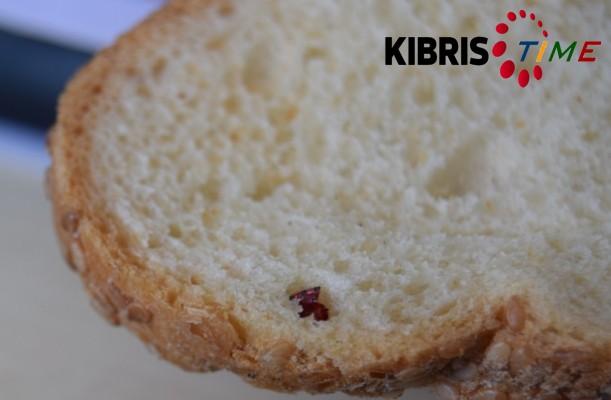 Ekmekten böcek çıktı