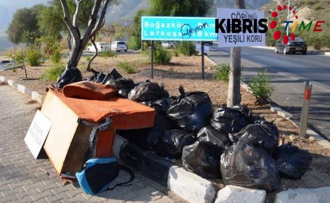 Girne Belediyesi'nden temizlik çalışması