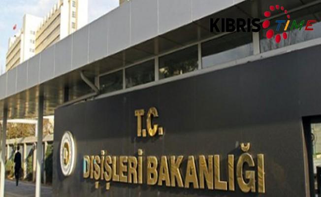 TC Dışişleri Bakanlığı açıklama yaptı...