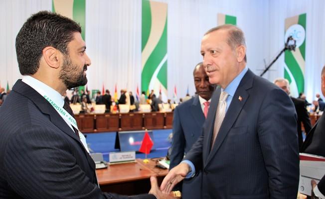 Atun Cumhurbaşkanı ile görüştü