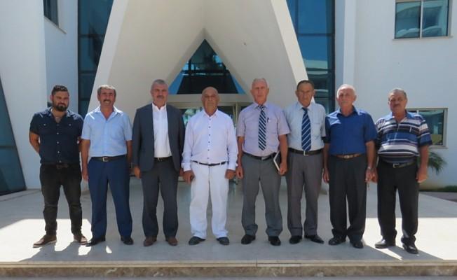 Dipkarpaz Yerel Yönetimler Komitesi, Benli'yi ziyaret etti.