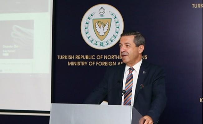 Ertuğruloğlu: 50 yıllık müzakere süreci bitti