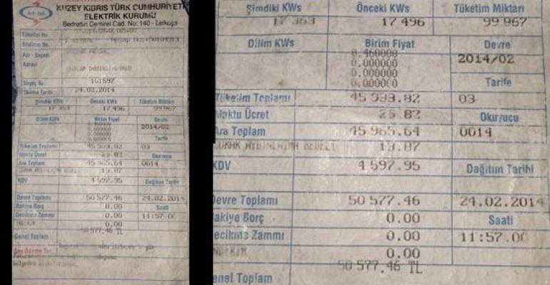 Elektrik faturaları artık elektronik ortamda...