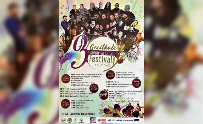 Geçitkale Kültür ve Sanat Festivali bu akşam