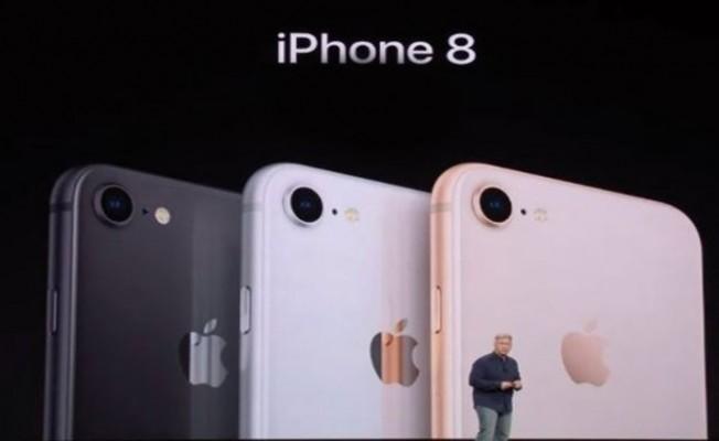 iPhone 8 ve iPhone 8Plus tanıtıldı