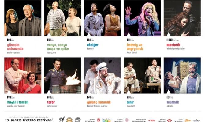 Kıbrıs Tiyatro Festivali bu akşam başlıyor