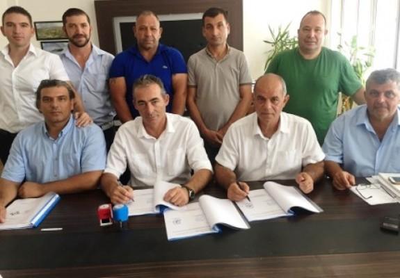 Lefke Belediyesi'nde toplu sözleşme imzalandı