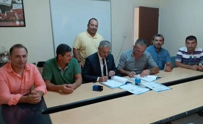 BES ile Tatlısu Belediyesi arasında toplu sözleşme