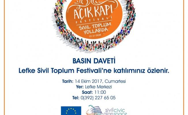 Lefke Sivil Toplum Festivali yarın