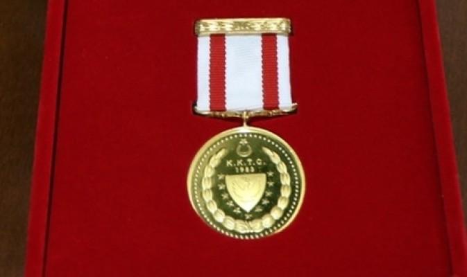 Madalyalar 15 Kasım'da veriliyor...