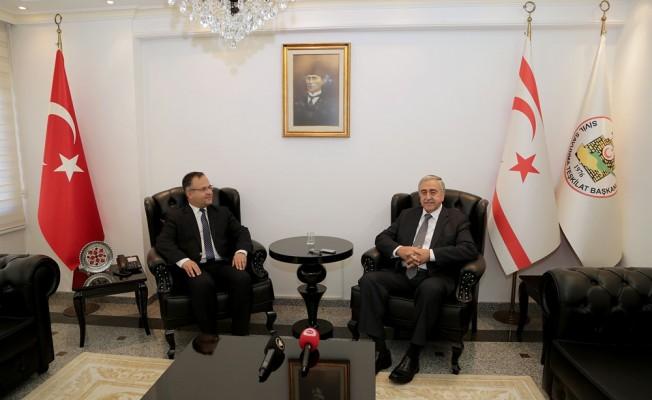 Akıncı Sivil Savunma Teşkilat Başkanı Çelebi'yi ziyaret etti