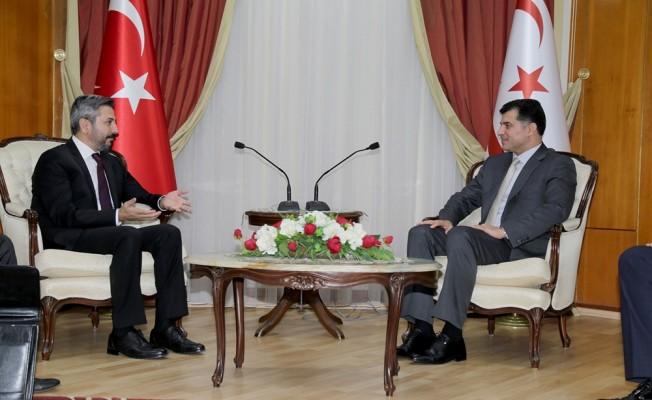 """Aydın: """"TC Kıbrıs davasını kendi milli davası olarak görüyor"""""""