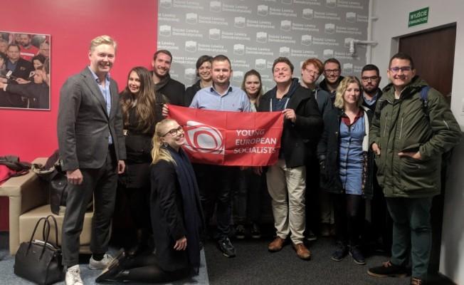 CTP, Avrupalı Genç Sosyalistler 25. yıl etkinliklerine katıldı