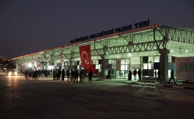KKTC'nin en büyük pazar yeri açıldı