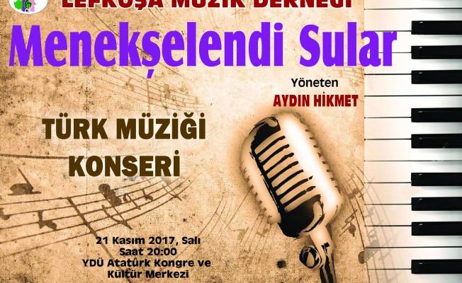 Lefkoşa Müzik Derneği konser veriyor