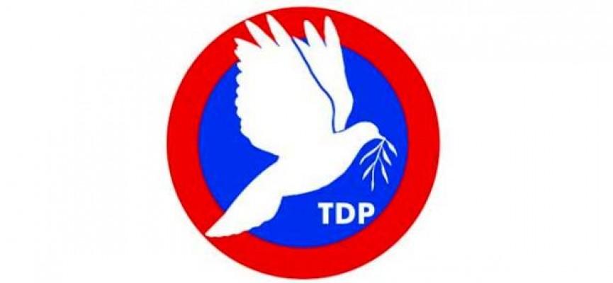 TDP'de adaylık süreci 17 Kasım'da sona eriyor