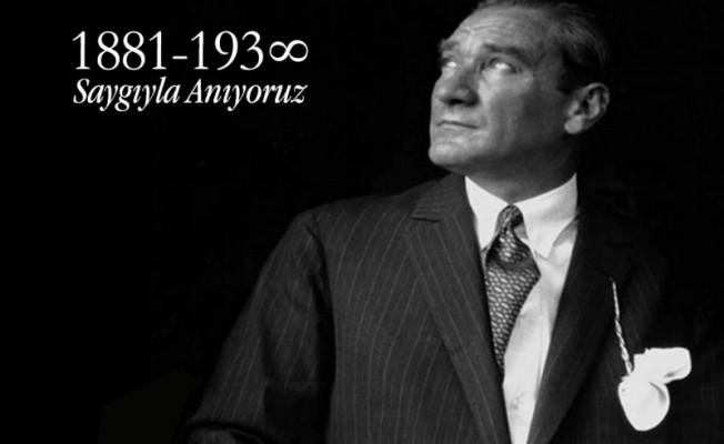 Ulu Önder Atatürk yarın anılıyor