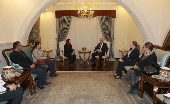 Akıncı, Pir Sultan Abdal Kültür Derneği'ni kabul etti