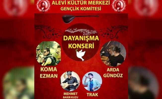 Alevi Kültür Merkezi dayanışma konseri düzenliyor