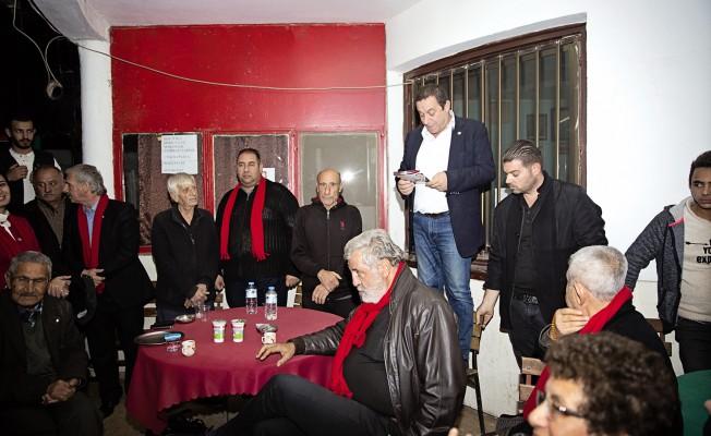 DP Haspolat'ta adaylarını tanıttı