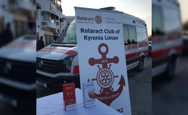 Girne Liman Rotaract Kulübü'nden anlamlı proje
