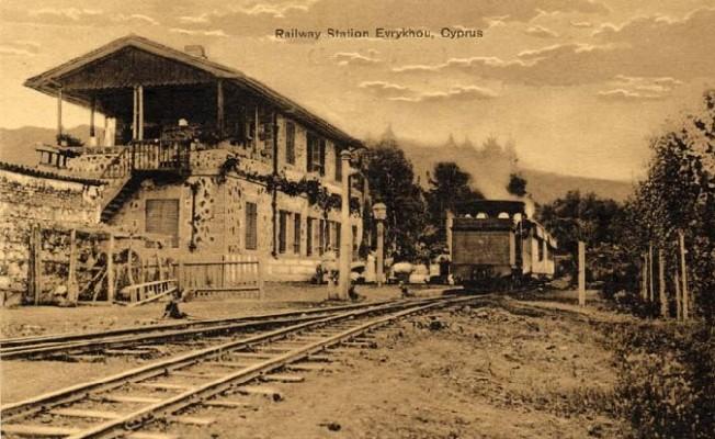 Güzelyurt Tren İstasyonu'nda Restorasyon Başladı...