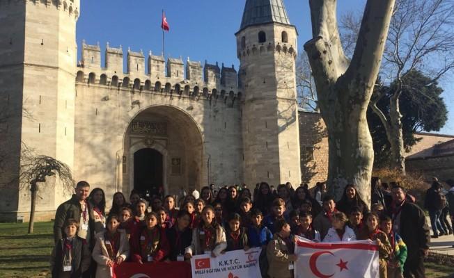 İzciler Çanakkale ve İstanbul'u gezdi
