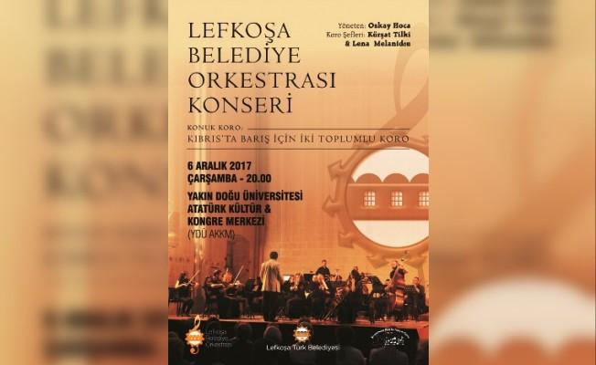 LBO ile İki Toplumlu Koro'dan ortak konser....