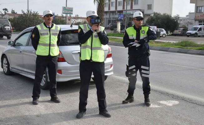 Lefkoşa ve Girne'de asayiş ve trafik operasyonu