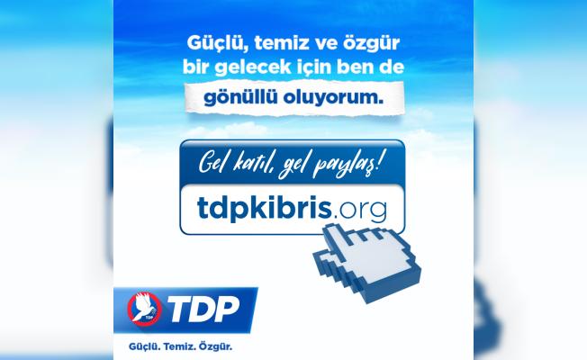 TDP'den Dijital Mecrada gönüllü uygulaması...