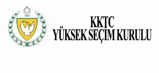 YSK adayları geçici olarak ilan etti