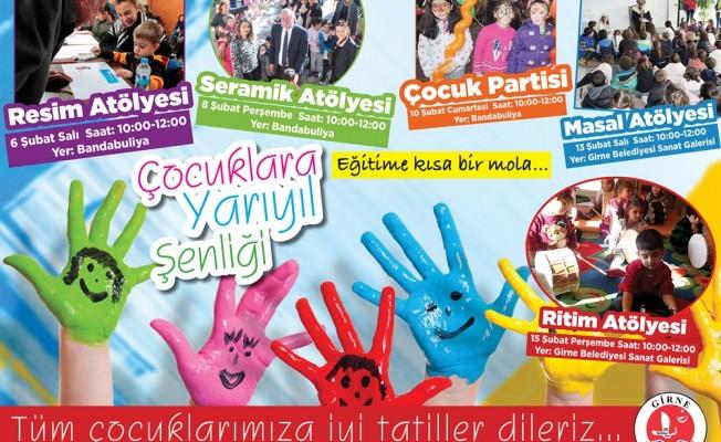Girne Belediyesi Yarıyıl Şenliği başlıyor