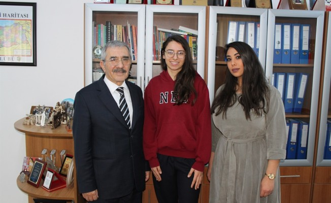YDK öğrencisi Kıvılcım'dan büyük başarı