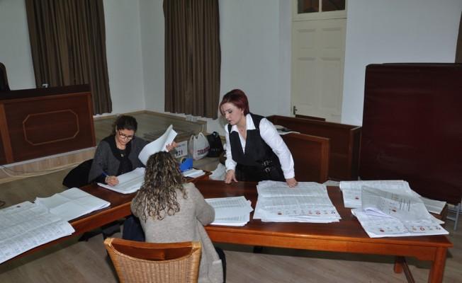 YSK'da oy sayma işlemi sürüyor...