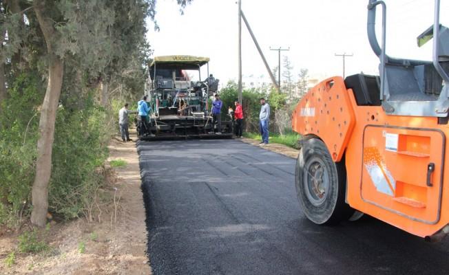 10 Bin ton asfalt dökülecek