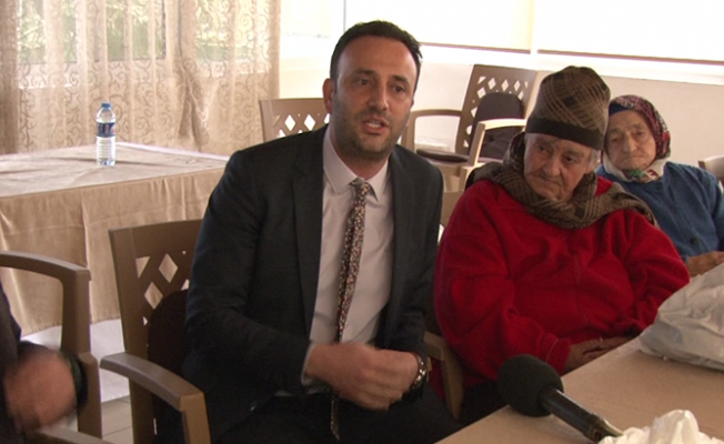 Bakan Çeler Lapta Huzurevi'ni ziyaret etti