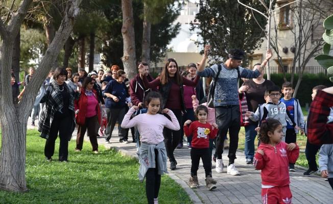 Çocuklar fiziksel aktiviteyi öğrendi