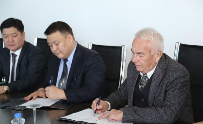 GAÜ ile Moğolistan Bilim ve Teknik Üniversitesi arasında işbirliği