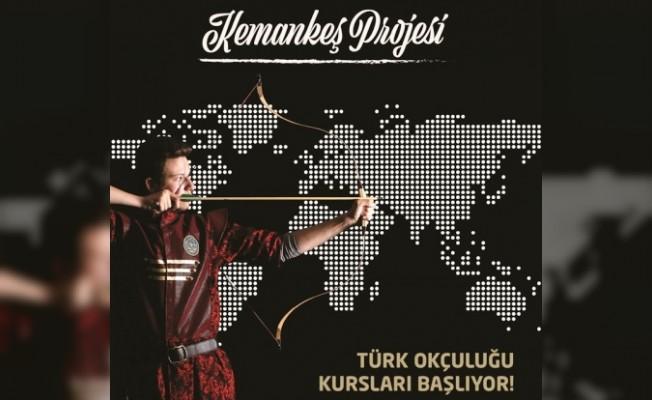 """""""Geleneksel Türk Okçuluğu Kursu"""" düzenleniyor"""