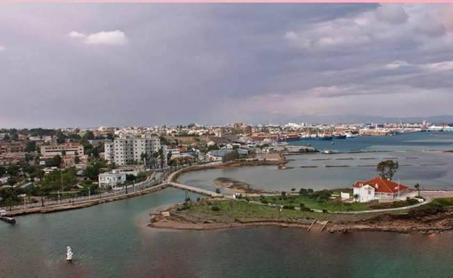 G.Mağusa'ya yat limanı...