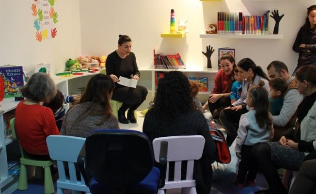 YDÜ'de Çocuk Kütüphanesi açıldı