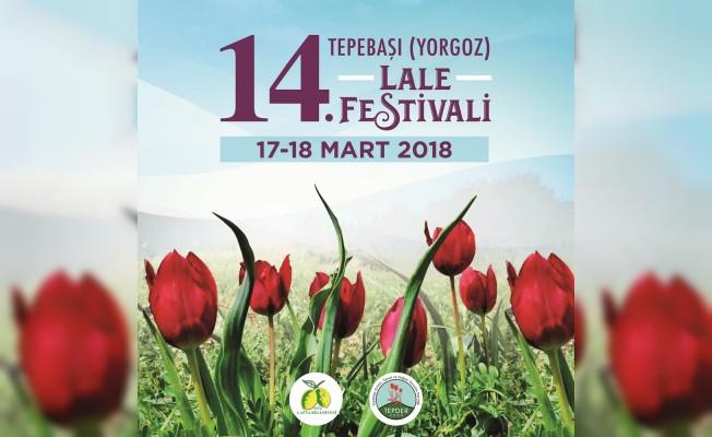 14. Tepebaşı Lale Festivali 17 Mart'ta