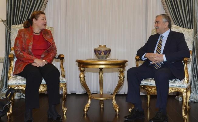 Akıncı Avusturya Büyükelçi'sini kabul etti